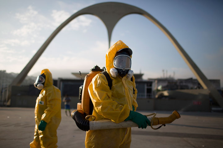 การป้องกันการติดเชื้อไวรัสซิกา