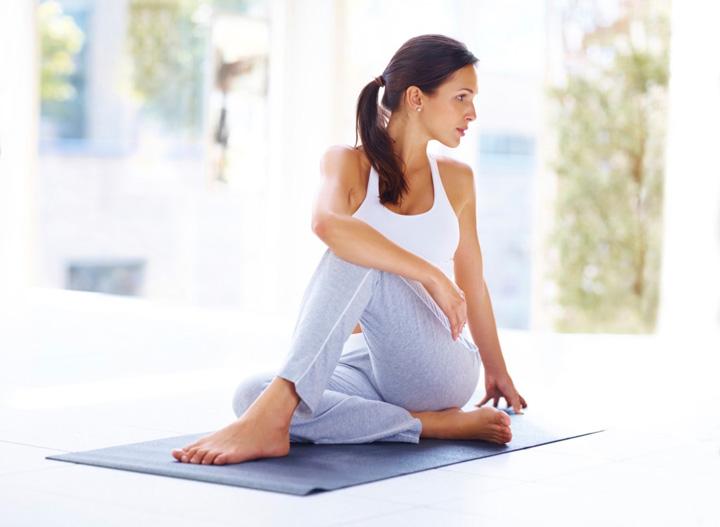 การฝึกยืดกล้ามเนื้อ ปวดหลัง