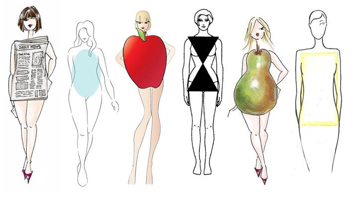คุณมีรูปร่างแบบผลแอปเปิ้ลหรือลูกแพร