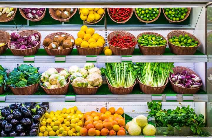 ผักและผลไม้ อาหารเพื่อสุขภาพ