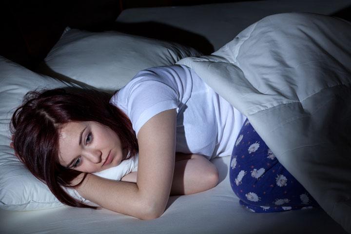 ผู้หญิงมีอาการนอนไม่หลับมากกว่าผู้ชาย