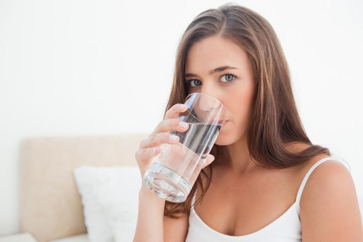 7. ดื่มน้ำมากๆ