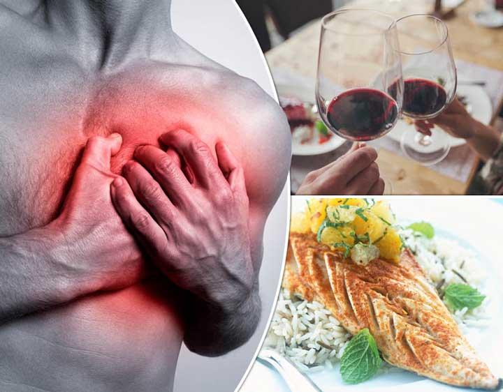 บริโภคอาหารที่มีประโยชน์ต่อสุขภาพหัวใจ