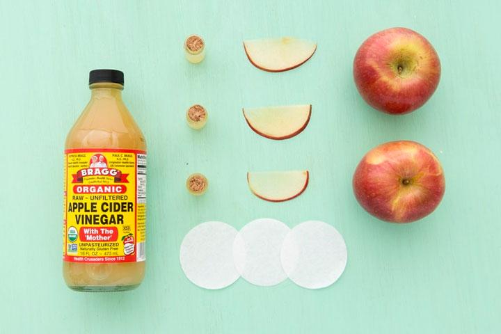 การรักษาด้วย-Apple-Cider-Vinegar-Toner